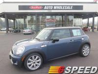 Drivers only for this sleek and agile 2010 MINI Cooper