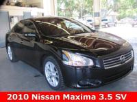 2010 Maxima SV ** Nissan Certified Preowned Maxima SV