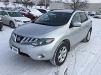 This 2010 Nissan Murano SL is offered to you for sale