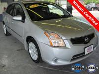 Near New 2010 Nissan Sentra 2.0S with only 16,000
