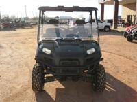 2010 POLARIS RANGER 800 XP is a low hour unit with only