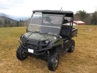 2010 Polaris Ranger XP HD 800 with only 147 hours/761