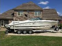Sea Ray 270 SLX 496 Mercruiser HO 425 HSP with Bravo 3