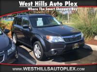 New Arrival! LOW MILES, This 2010 Subaru Forester 2.5X