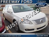 Blizzard Pearl 2010 Toyota Avalon Limited FWD 6-Speed
