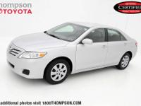 Camry LE, 2.5L I4 SMPI DOHC, CLEAN CARFAX! ONE OWNER!,