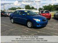 CLEARANCE PRICE www.MetrowestAutoSales.com  We are