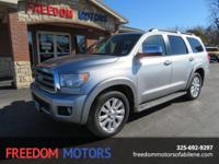 This 2008 Toyota Sequoia Limited 4x4 is REALLY NICE!!!