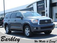 CARFAX One-Owner. Gray 2010 Toyota Sequoia SR5 5.7L RWD