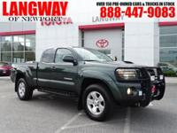 New Price! 2010 Toyota Tacoma CARFAX One-Owner. Clean