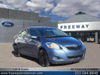 Blue Streak Metallic 2010 Toyota Yaris FWD 4-Speed