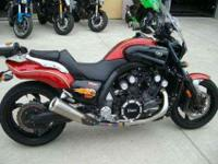 2010 YAMAHA VMAX, Candy Red, the vmax has always been