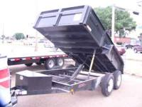 6X12 DUMP TRAILER 12000 GVW 2 6000 lb. axles with