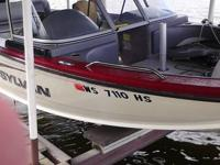 2011 SYLVAN EXPEDITION SPORTSMAN   2010 MERCURY 150HP