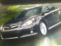 ?????REDUCED 2011 2.5i Premium Edition Subaru Lega -