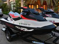 Two Sea Doo Wake 215swith 2008 Ziem Trailer Both