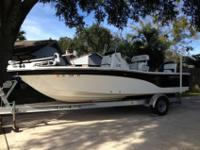 2011 200 XT Seafox with a 2011 115 Yamaha outboard.