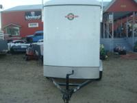 2011 5X5 CARGO PRO ENCLOSED TRAILER WITH EXTENDED