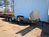 THIS UNIT IS A USED 2011 7' X 20' STEEL DIAMOND PLATE