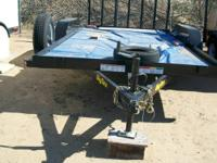 I am selling a very nice Big Tex 2011  utility trailer