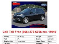 2011 Acura MDX Gray 3.7LTechnologyPackage 4dr All-wheel