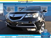 1-OWNER CARFAX CERTIFIED GORGEOUS ACURA MDX SH-AWD 3