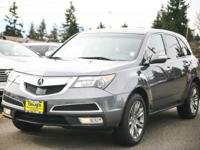 2011 Acura MDX 3.7L Advance Package Advance Package AWD