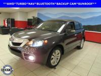 LEATHER, NAVIGATION, and SUNROOF. RDX Technology