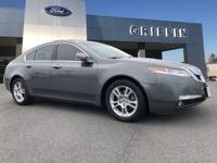 Gray 2011 Acura TL 3.5 w/Technology Package FWD 5-Speed