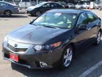 Crystal Black Pearl 2011 Acura TSX 2.4 FWD 5-Speed