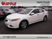 Recent Arrival! Clean CARFAX.2011 Acura TSX 2.4 White