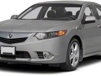 2011 Acura TSX Technology Package For