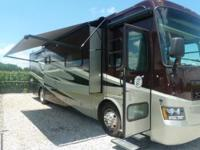2011 Tiffin Allegro Red 38QRA, Engine: Cummins ISC 340,