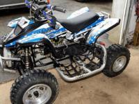 Selling a 2011 Apex 90cc mini quad. Quad was never