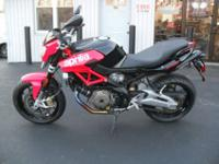 2011 APRILIA SHIVER & GOOD CONDITION & NO SCRATCHESVIN: