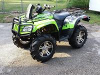2011 Arctic Cat Mud Pro 700 ATV 4x4 Four Wheeler! I