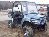 Description Make: Arctic Cat Mileage: 2,280 miles Year: