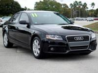 Options:  2011 Audi A4 2.0T Premium|Brilliant