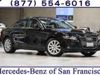 Clean CARFAX. 2011 Audi A4 2.0T Premium Plus quattro