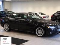 This 2011 Audi A4 2.0T Prestige is offered to you for