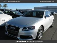 Audi Certified, 4D Sedan, 8-Speed Automatic with