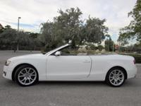 This ONE OWNER 2011 Audi A5 2.0T Premium convertible is