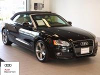 This 2011 Audi A5 is equipped with: quattro All Wheel