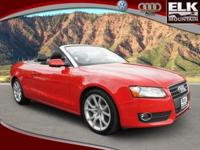 Leather. Oh yeah! Look! Look! Look! This 2011 A5 is for