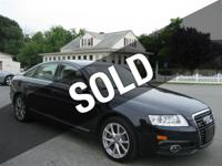 2011 Audi A6 3.0 T Premium Plus Quattro, One Owner,