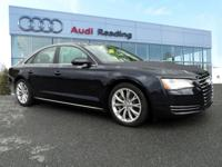 FRESH INSPECTION!! NEW TIRES!! 2011 AUDI A8 4.2