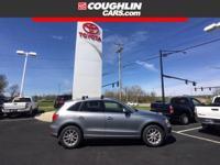 This 2011 Audi Q5 2.0T Premium in Silver features: