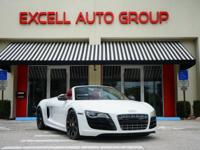 Introducing the 2011 Audi R8 V10 Spyder Quattro with