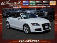 Check out this gently-used 2011 Audi TT we recently got
