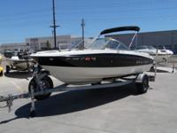 "2011 Bayliner 18' 8""- This is a nice clean and fast"